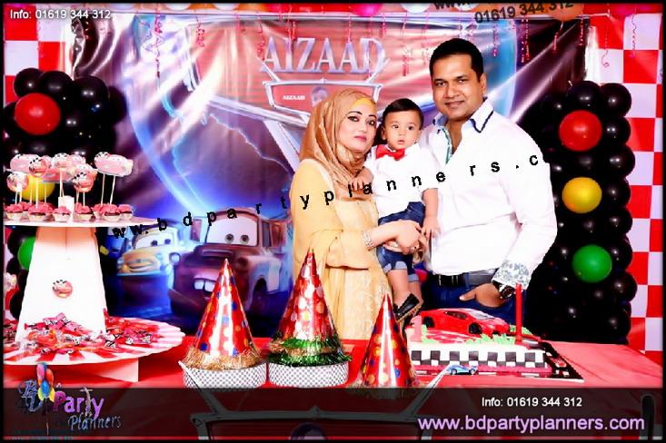 Disney Cars Theme Birthday Party Gulshan 2 Dhaka