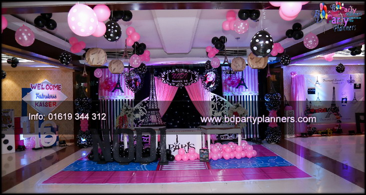 BD Birthday Party Planners