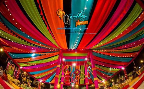 holud stage decor bd event management wedding planners. Black Bedroom Furniture Sets. Home Design Ideas