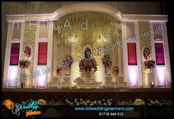 Wedding stage decoration cost in bangladesh wedding stage retouched wedding stage decoration cost in bangladesh wedding decoration flower stage bd event management junglespirit Gallery