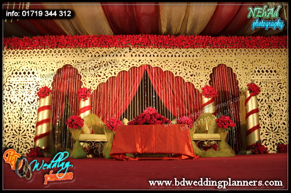 Our blog bd event management wedding planners for American wedding stage decoration