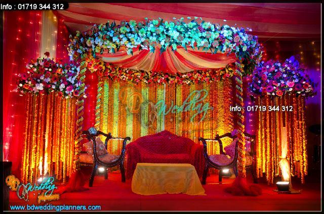 Wall Decoration Ideas For Ganpati : Bd event management wedding planners