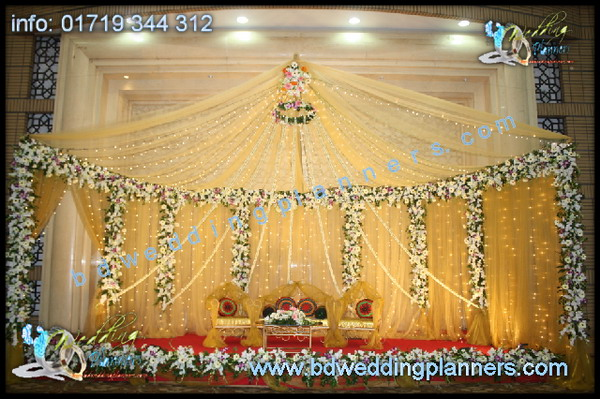 Wedding Reception Stage Decor BD
