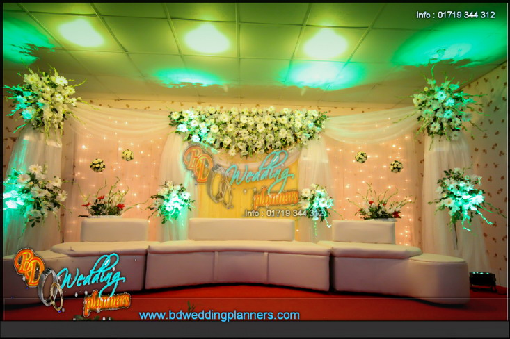 Wedding Stage Floral Arts